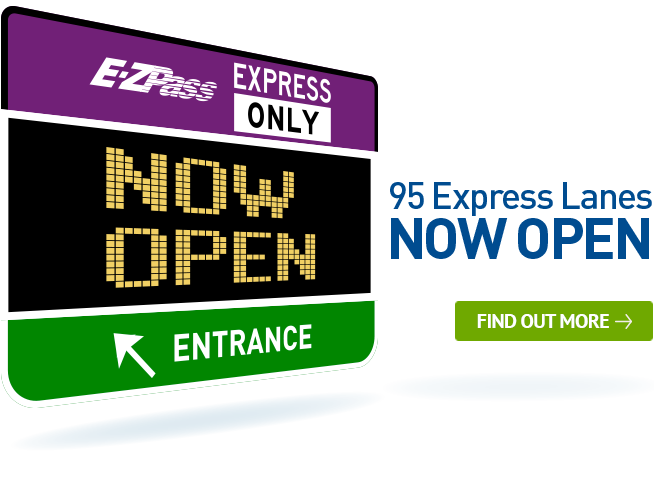 95 Express Lanes Now Open