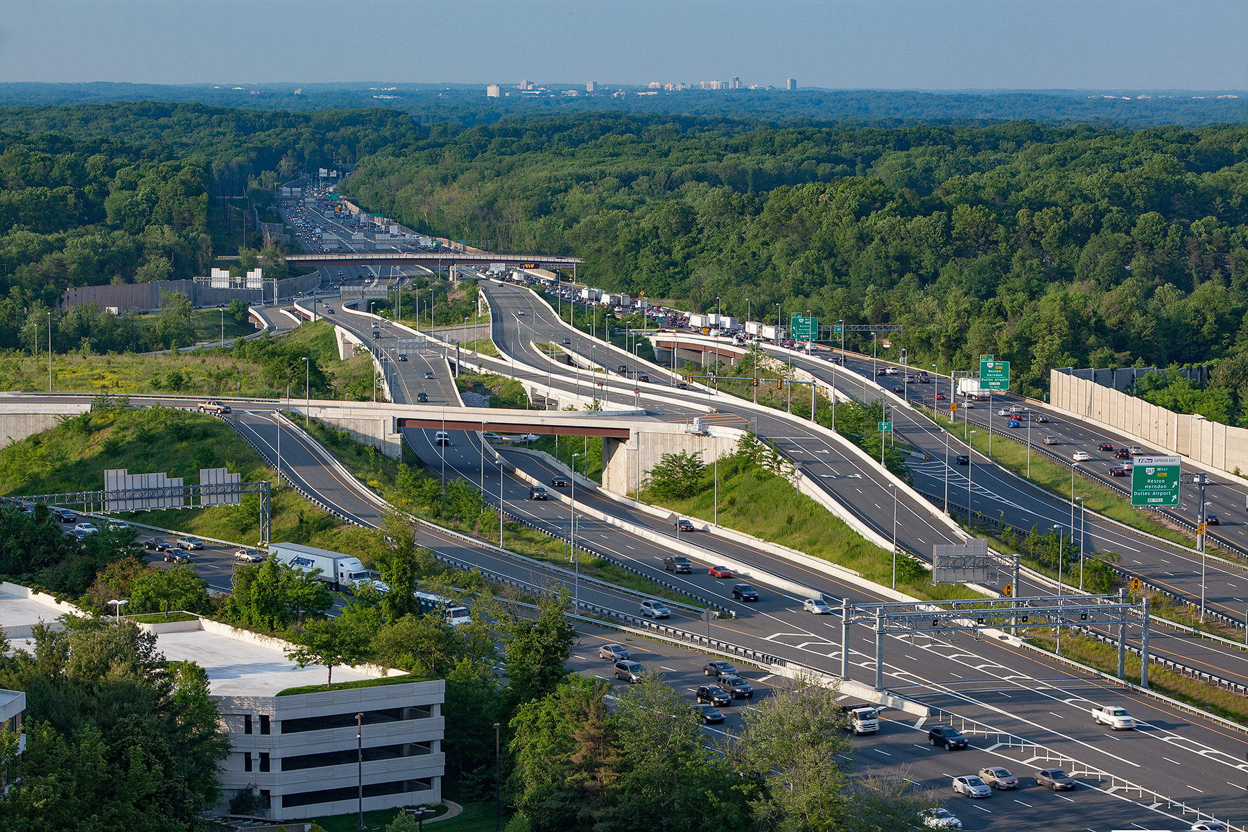 495 Express Lanes entrance